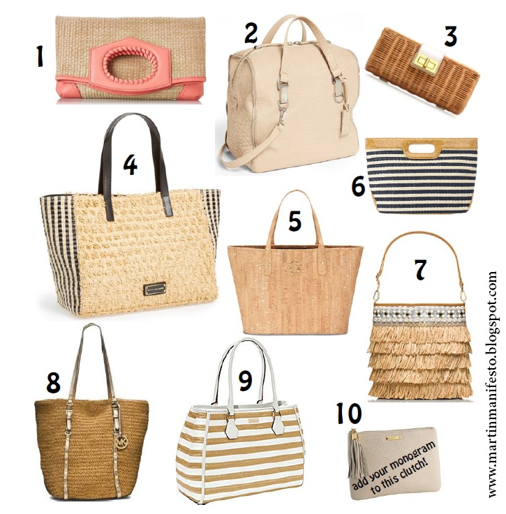Neutral purses, handbag trend 2014