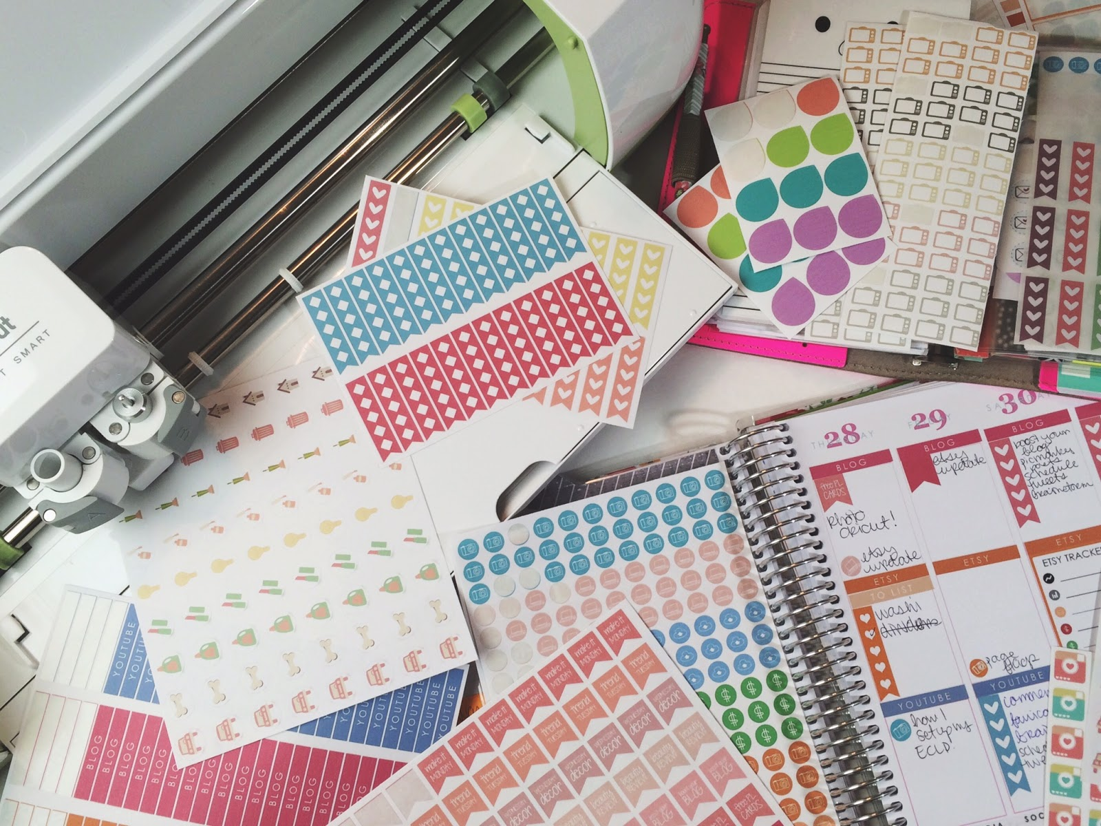 Five Sixteenths Blog Tips For Cricut Explore Print Then Cut - Where to print stickers
