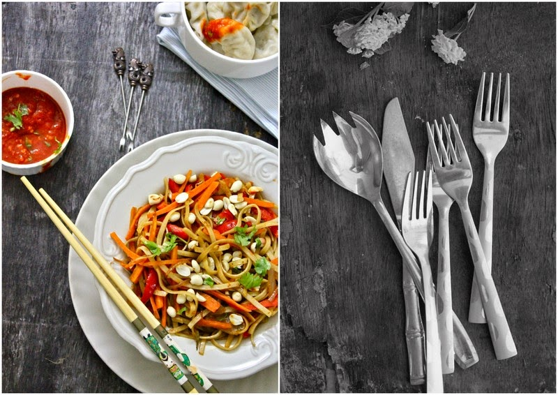 Find recipe of how to make Pad Thai, a variety of flat noodles stir-fried with plenty of vegetables in spicy sauce. This is a simple recipe to follow