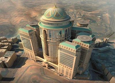 Hotel Terbesar dan Kubah Tertinggi Sejagat Dibangun di Makkah