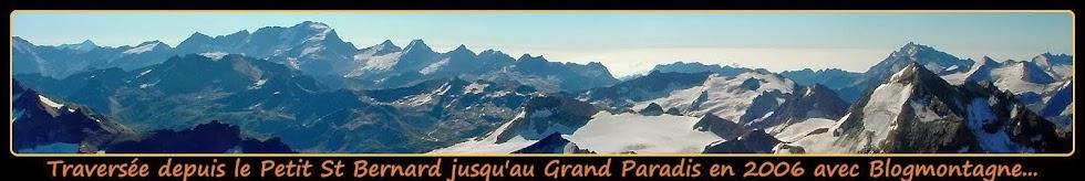 ➽ La traversée du Grand Paradis, trek réalisé en 2006 par Blogmontagne ~