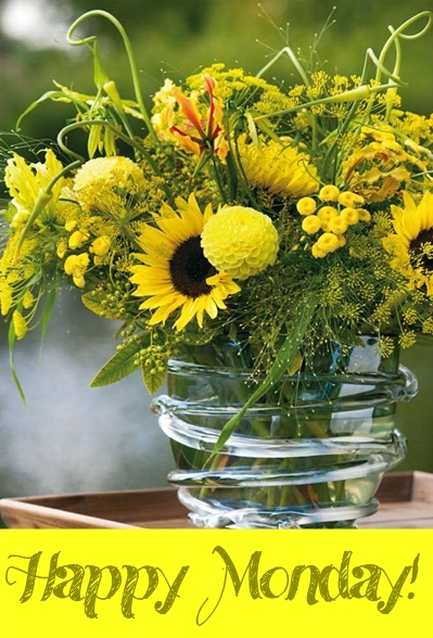 Happy Monday: Solrosor & Dill // Sunflowers & Dill