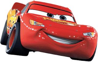 Rayo McQueen para imprimir