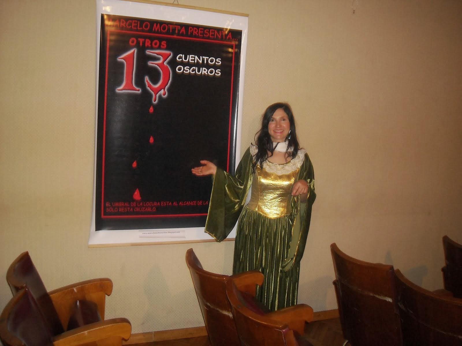 Silvia en la embajada argentina en Roma
