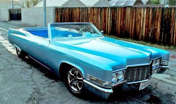 Cadillac DeVille jacuzzi