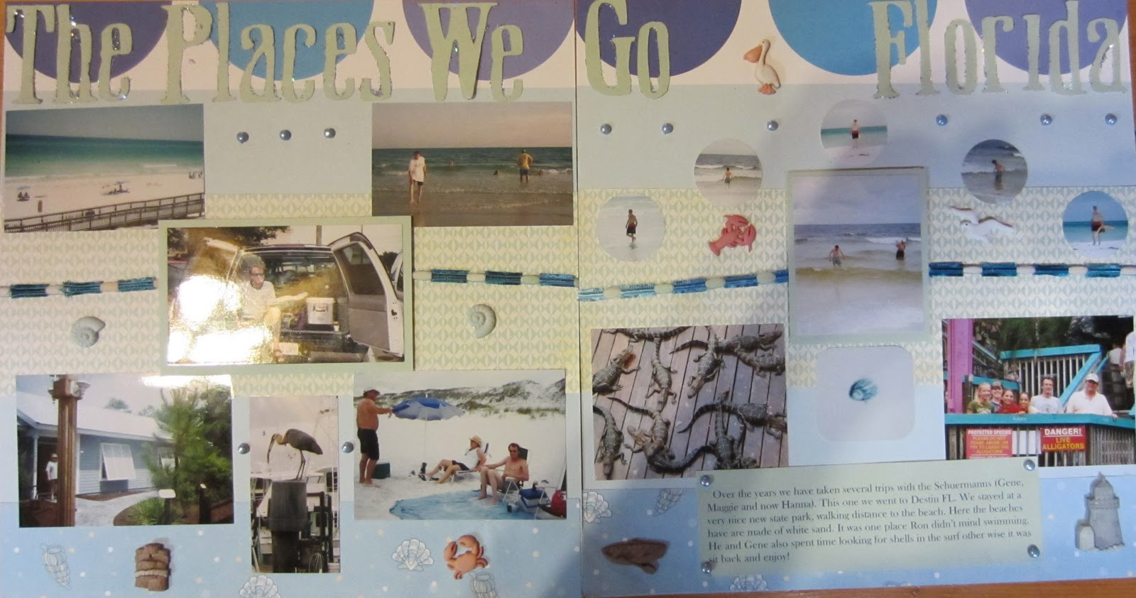 Ziplining scrapbook ideas - This Is A Layout She Did For Her Work Scrapbook She Has A Conference Somewhere In The World Every Year If She Takes The Book To Work She Just Might