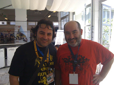Fiorentino Palumbo Comicon 2012