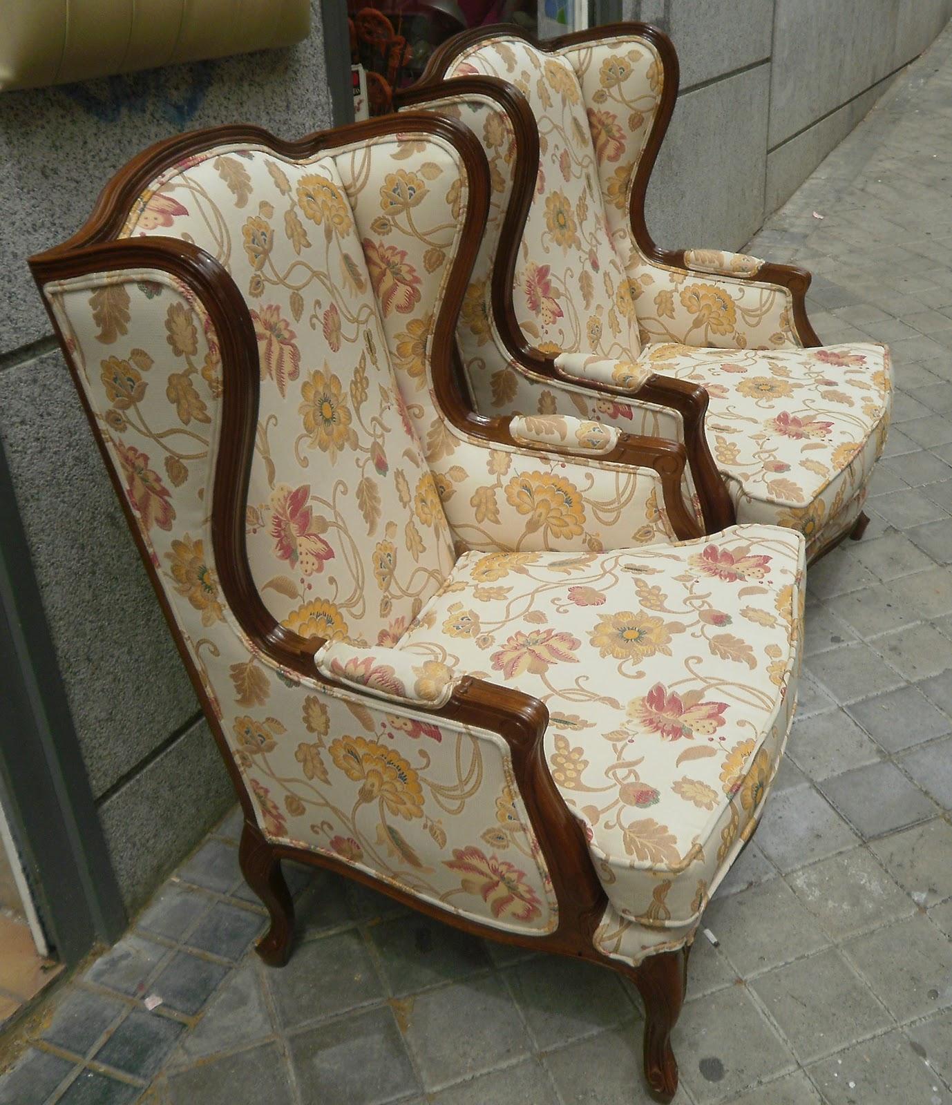 Telas para tapizar sillones orejeros top orejeros - Telas de tapiceria para sillones ...