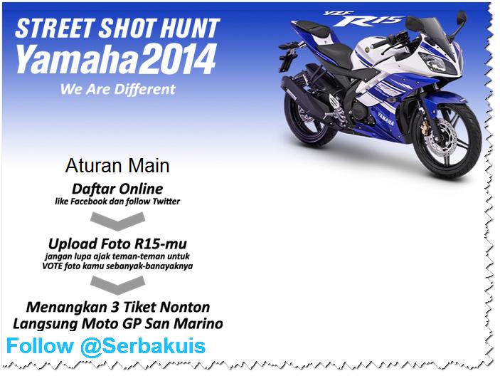 Kontes Foto Yamaha R-15 Berhadiah 3 Paket Nonton Live Moto GP San Marino