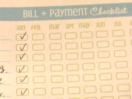 How To Organize Your Bills And Receipts Tutorial
