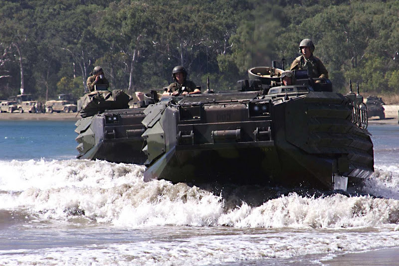 AAVP7A1 Armored Amphibious Vehicle