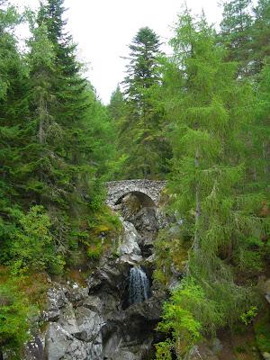 Falls of Bruar, Cairngorms, Perthshire, Scotland, Escòcia, Regne Unit, United Kingdom
