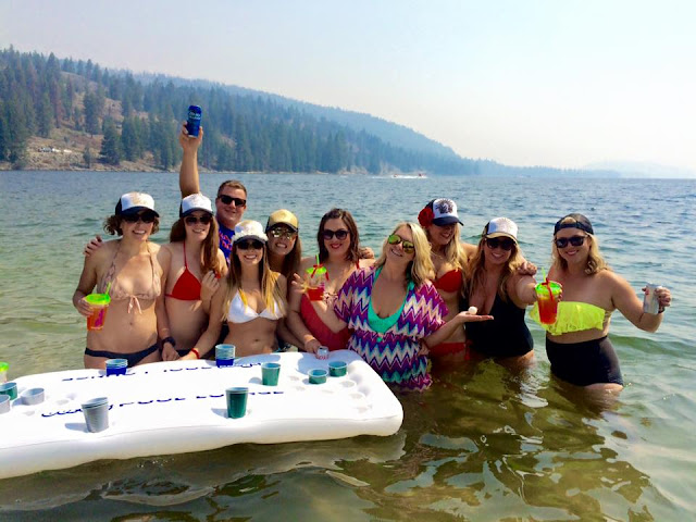 boating bachelorette party