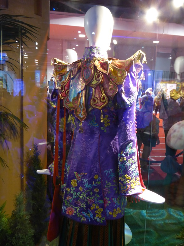 Alice Through the Looking Glass Mandarin costume back