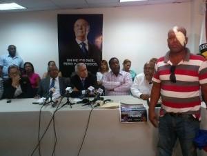PRD dice muestra pruebas de agresión contra dirigentes
