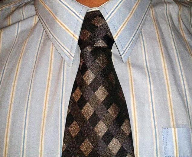 Kaklaraiščio mazgas Nr.12