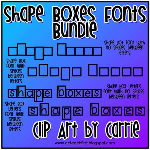 between letters in word shape box letters font shape box letters no ...