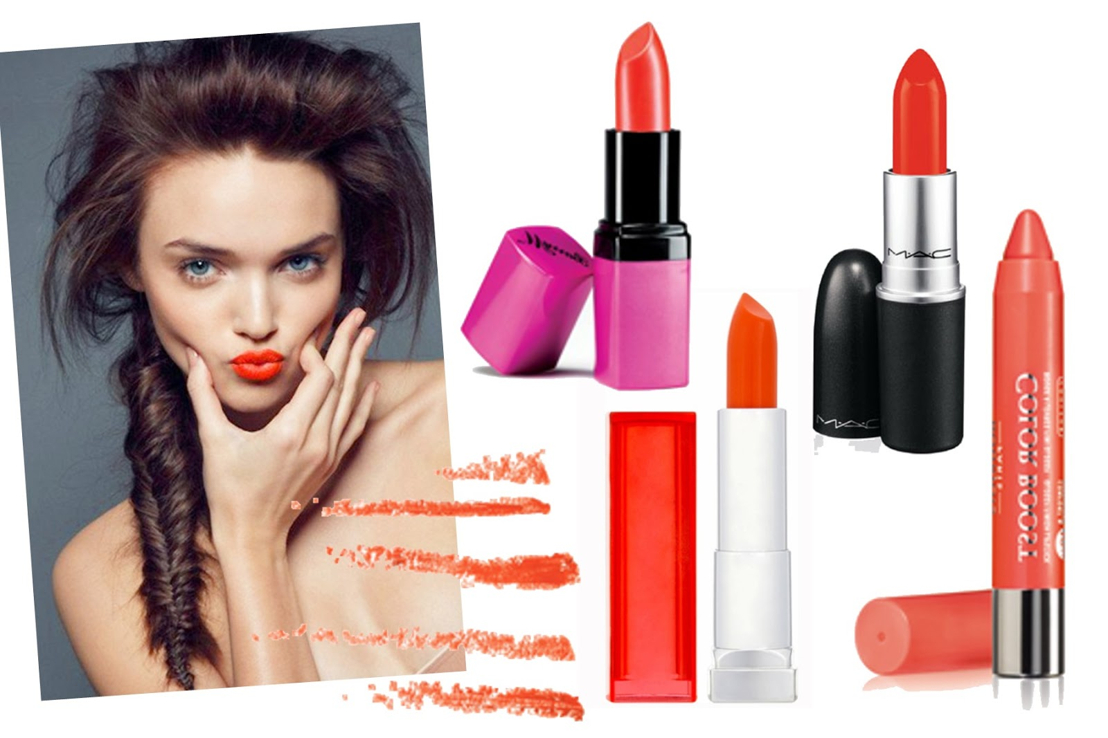 Beauty Trend: The Orange Lip