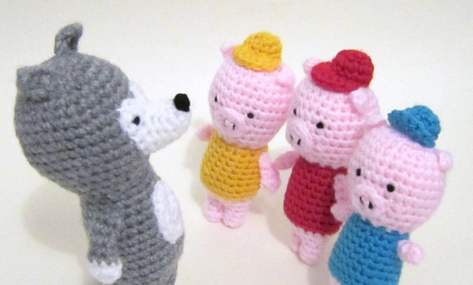 Updates! Etsy, Sarah and Duck, three little pigs, five little ...