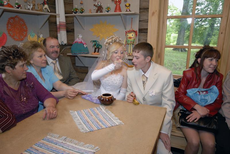 свадебный обряд в тарханах