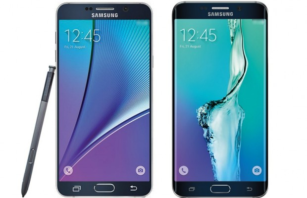 Samsung Galaxy Galaxy 5 and S6 Plus