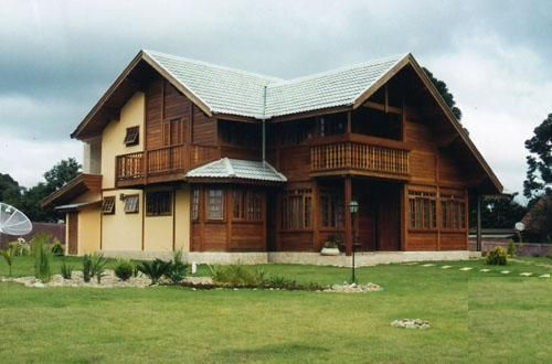 Constructora p s c s a s - Casas prefabricada de madera ...