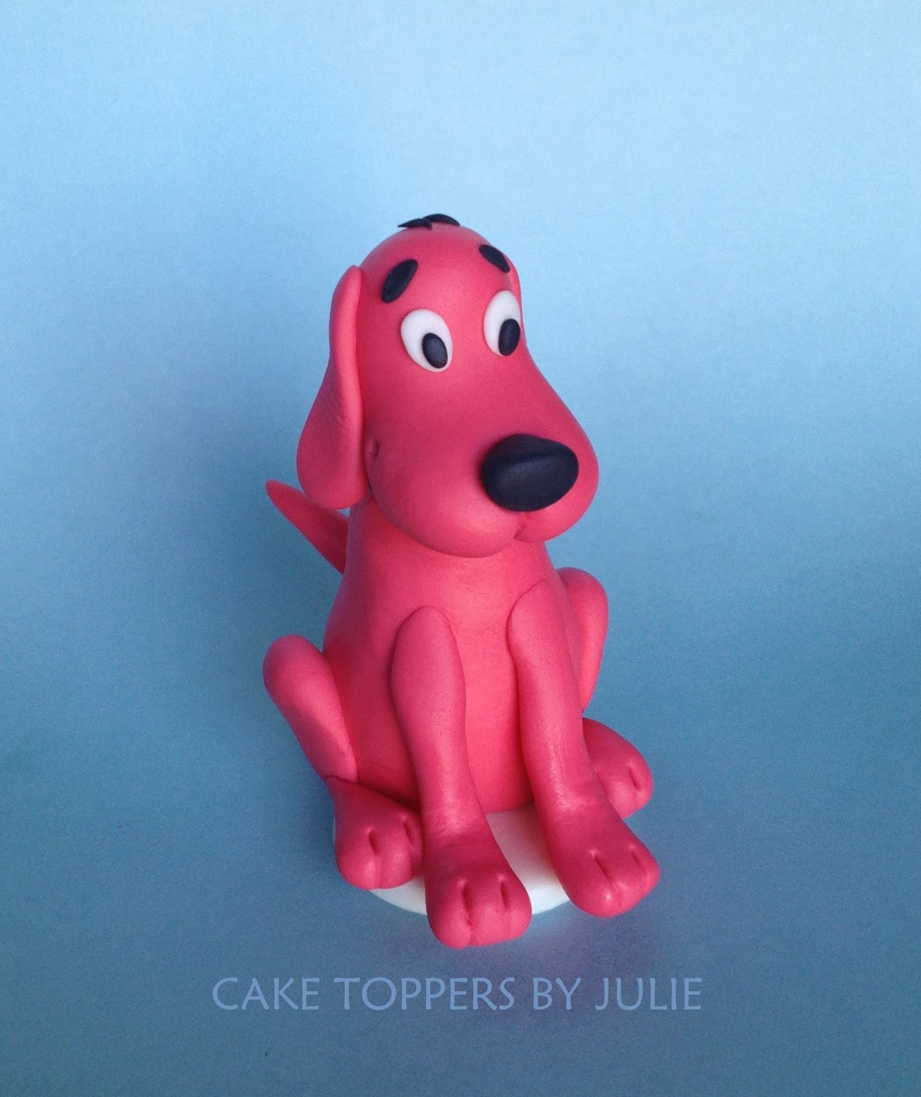 Clifford Cake Topper