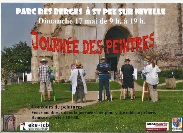 Journée des peintres St Pée sur Nivelle 2015