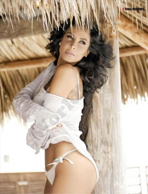 Lorena Rojas Revista H Para Hombres Febrero 2012