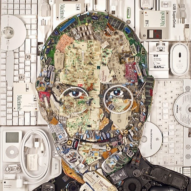 11-Steve-Jobs-Jason-Mecier-Paintings-or-Sculptures-in-Portrait-Collage-www-designstack-co