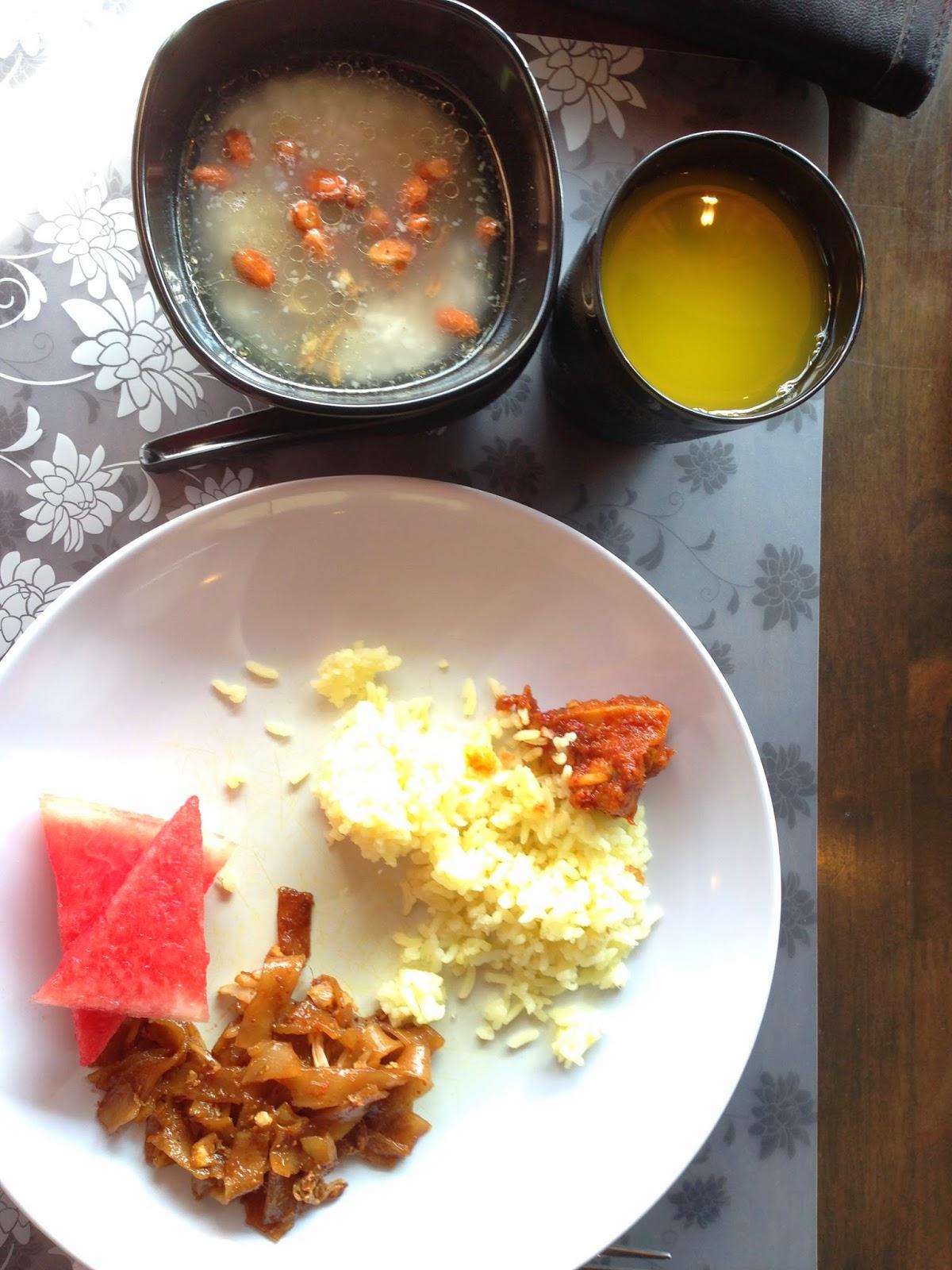 Breakfast at Ridel Hotel
