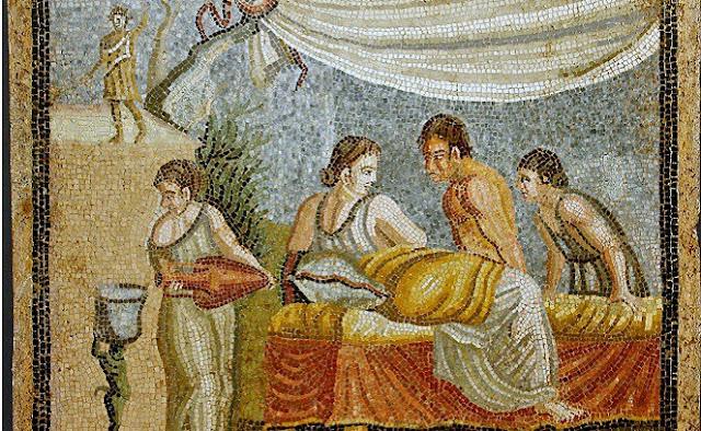lukisan romawi kuno