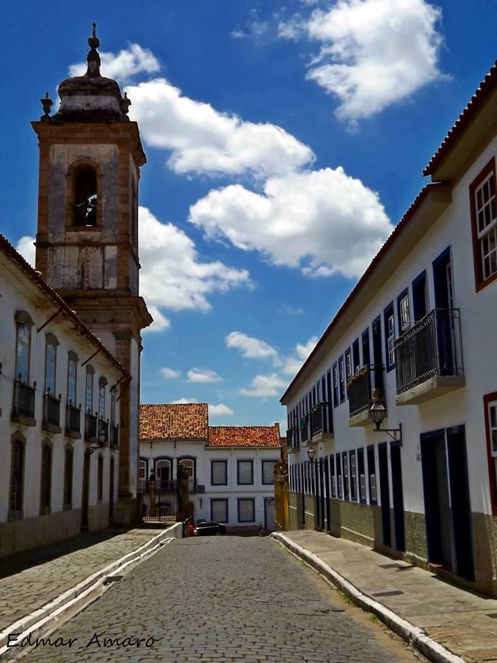 Lateral de Igreja Matriz de São João del Rei