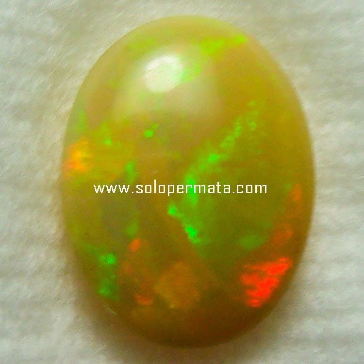Batu Permata Fire Opal Kalimaya - 22A03