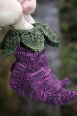 Elvish Baby Booties