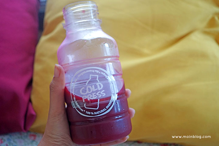 Review detox cold press juice