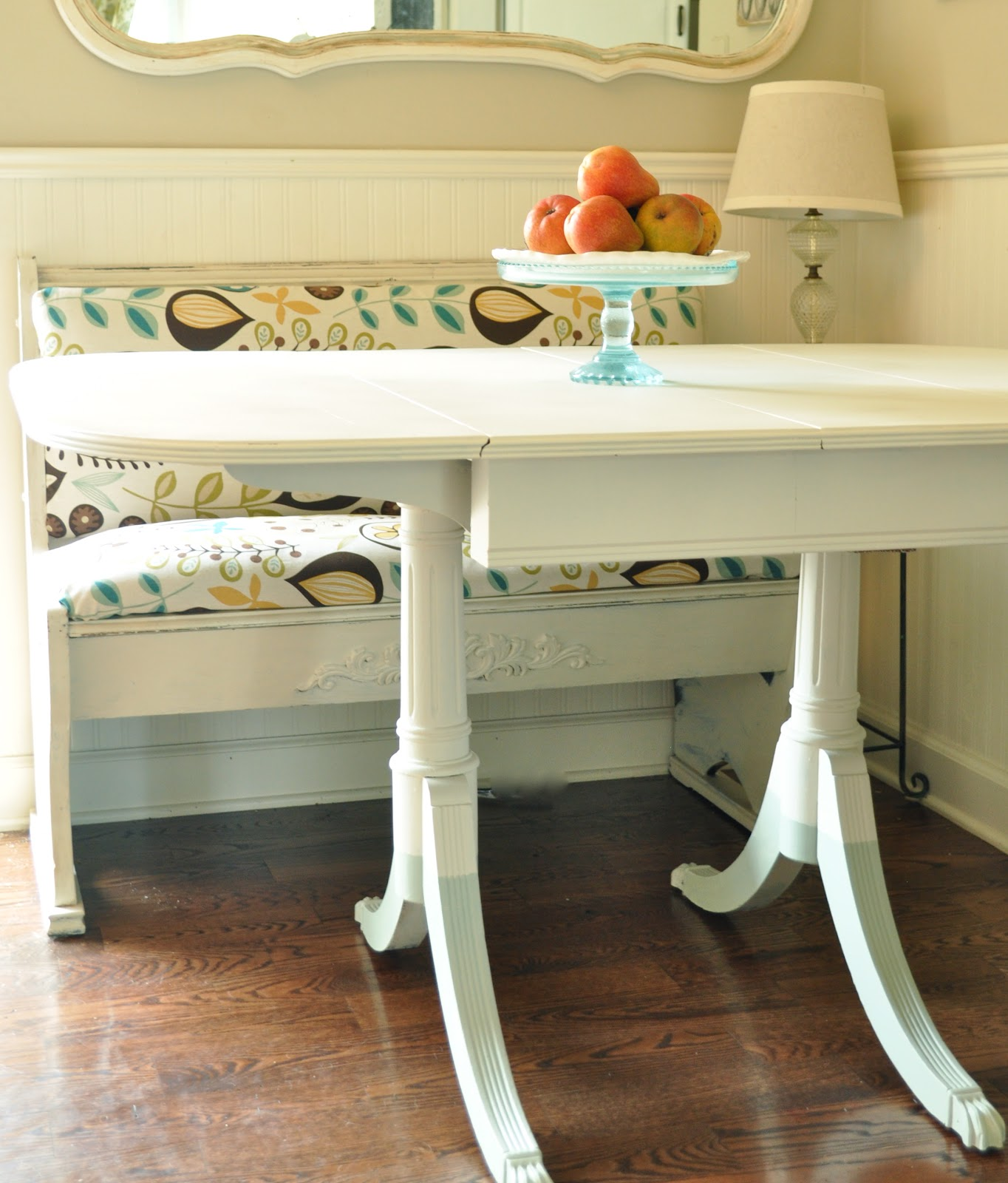 Painted table and dip dye legs Jennifer Rizzo