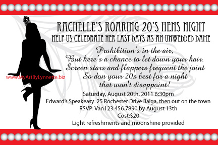 Roaring 1920s birthday invitation birthday party ideas roaring 1920s birthday invitation filmwisefo Choice Image