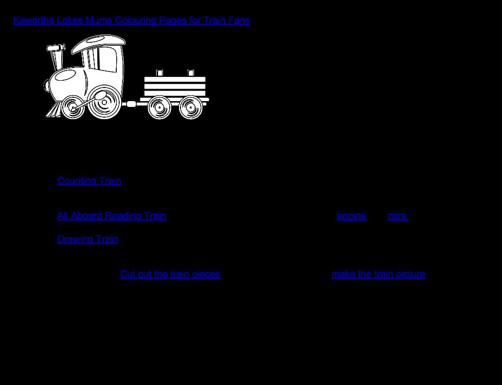 image Five Free Train Activities for Kawartha Lakes Mums Subscribers