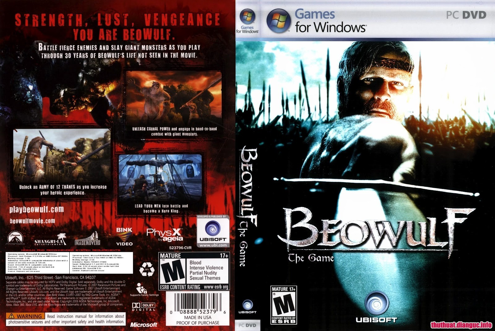 Download Game Beowulf The Game Full crack