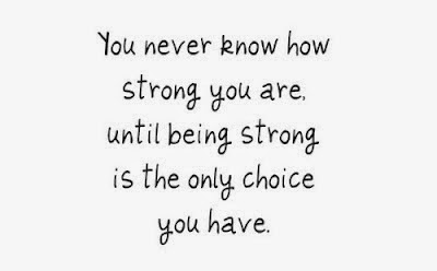 be strong and be cool, be strong and be brave, how strong you stand is what makes you, aku belajar menangis dari kebahagiaan, be strong is the only choice you have