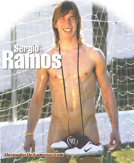 Sergio Ramos Desnudo