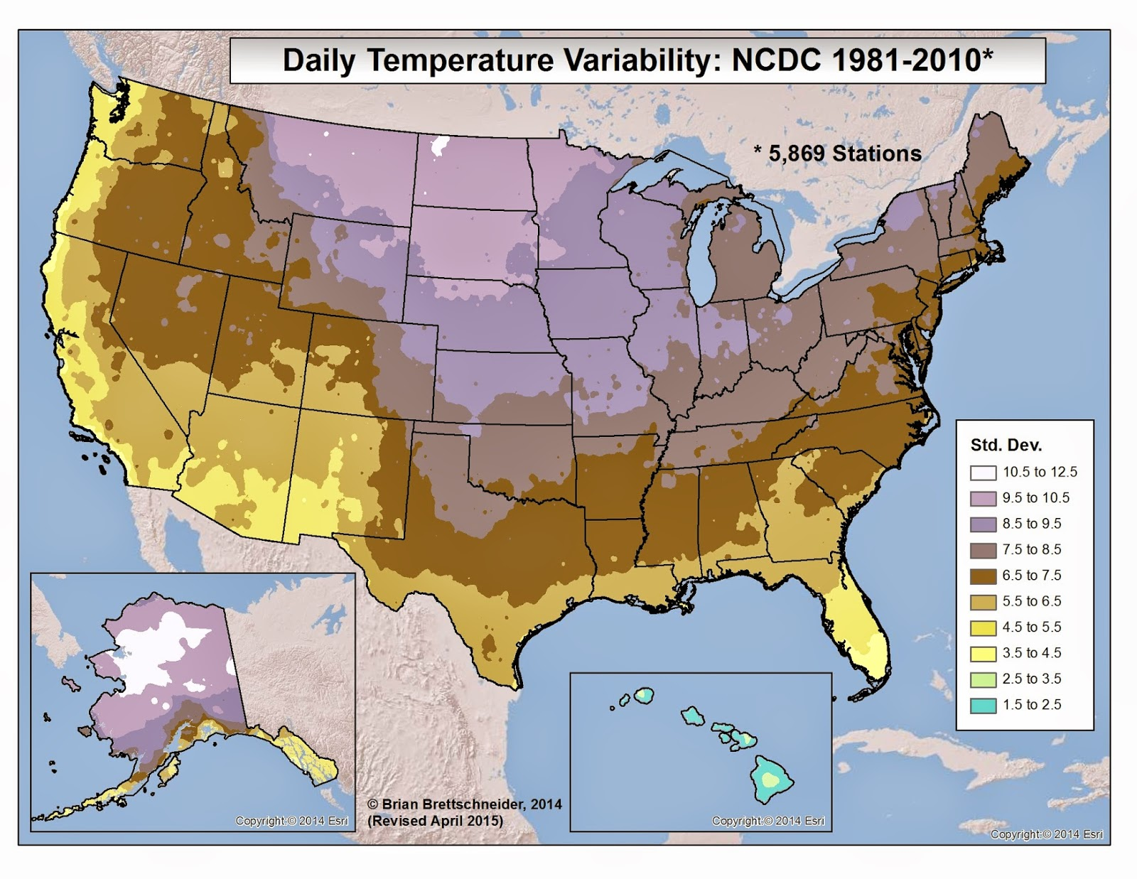 Brian B's Climate Blog: Intra-Annual Climate Variability on florida temperatures, south carolina temperatures, myrtle beach temperatures, las vegas temperatures, louisiana temperatures, texas temperatures,