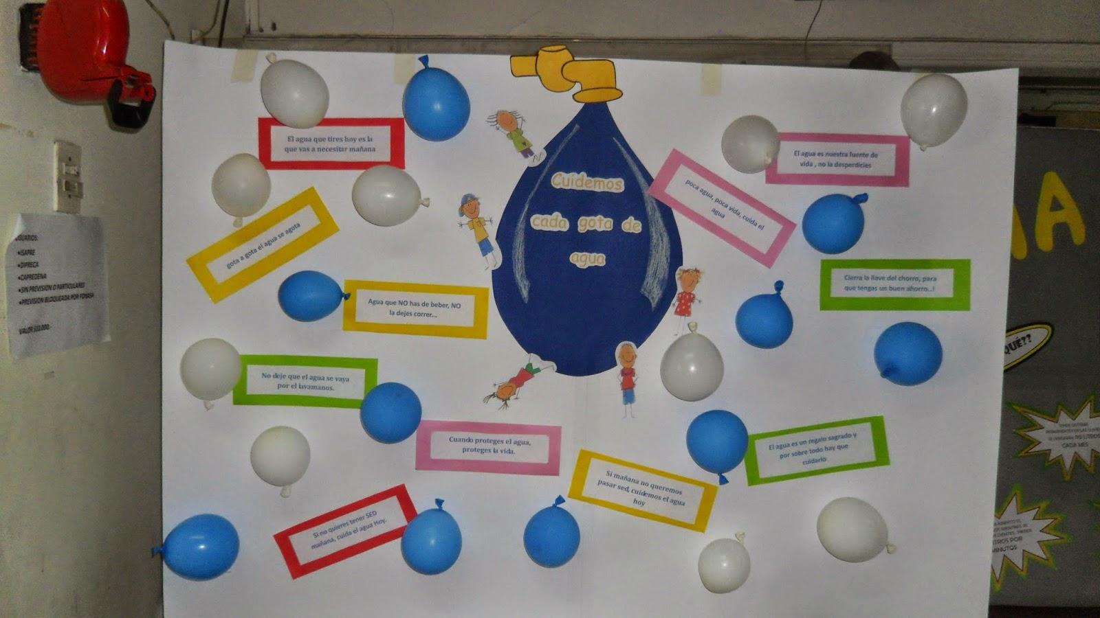 Actividades con agua para nios actividades sobre el agua for Parrilla de actividades casa del agua