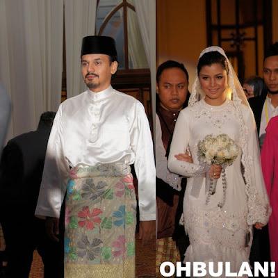 Gambar Lisa Surihani dan Yusry Sah Sebagai Suami Isteri