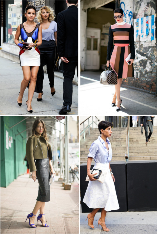 New York Fashion Week Spring 2014 The Best Of Street Style