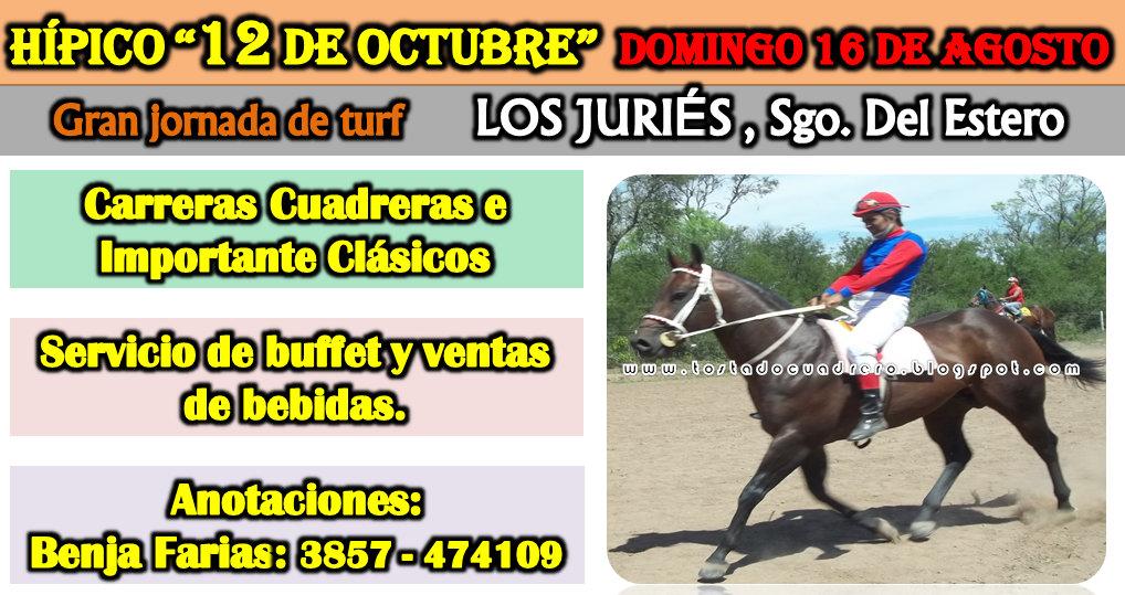 JURIES - 12 DE OCTUBRE - 16-08