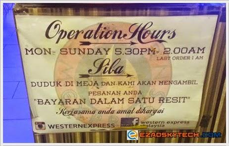 Waktu Operasi Western Express Bandar Sri Permaisuri Cheras