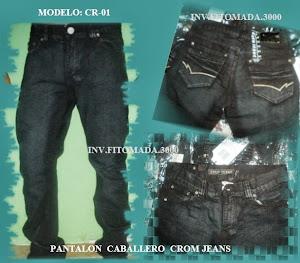 PANTALONES CABALLERO CROM