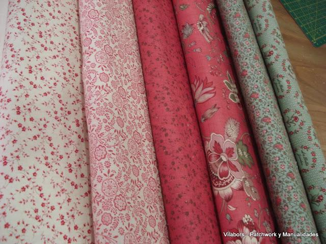 La Belle Fleur de Moda Fabrics